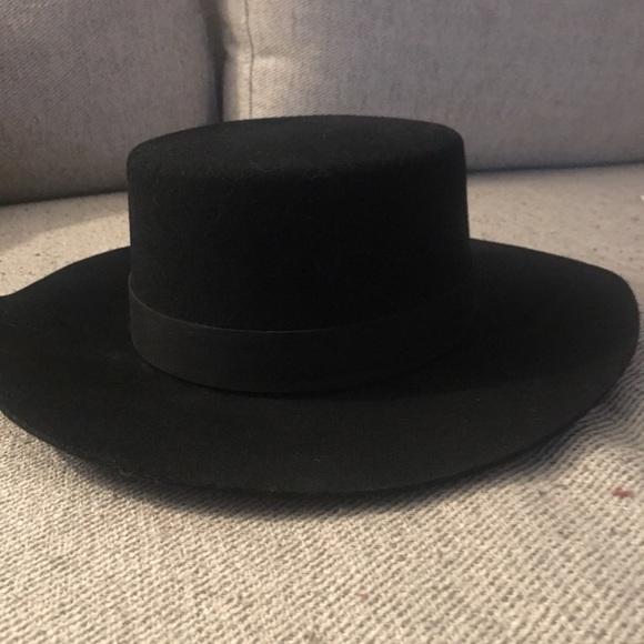 """78efcbc5 Janessa Leone Accessories - Janessa Leone """"Gabrielle"""" Bolero Hat"""
